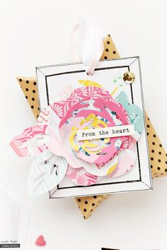 Floral Projects for Spring - Crate Paper Photo Projects, Craft Projects, Baby Mini Album, Karten Diy, Crate Paper, Scrapbook Embellishments, My Scrapbook, Paper Cards, Pattern Paper