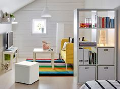 Divide your room, double your storage