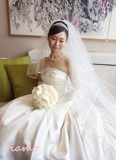 CUTEな花嫁さまの3チェンジで素敵な一日♡前編♡ の画像|大人可愛いブライダルヘアメイク 『tiamo』 の結婚カタログ