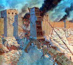 Masada: le implacabili legioni romane