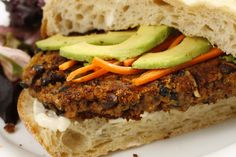 These bean burgers are awesome for vegetarians as they offer complete protein with the bean and rice combo, but they will also satisfy the hungriest carnivore. Awesome texture and tonnes of flavour, this recipe is great!   http://www.countrygrocer.com/recipe/chipotle-black-bean-burgers/
