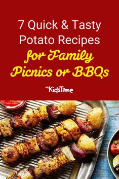7 Quick & Tasty Potato Recipes for Family Picnics or BBQs Tasty Potato Recipes, Mini Burgers, Family Picnic, Nutritious Meals, Picnics, Family Meals, Potato Salad, Dinners, Potatoes