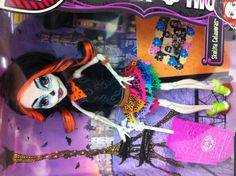 Gorgeous sugar skull doll