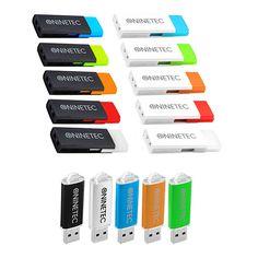NINETEC Doppelpack 2x 32 GB Highspeed 3.0 USB Speicher Stick Flash Drive