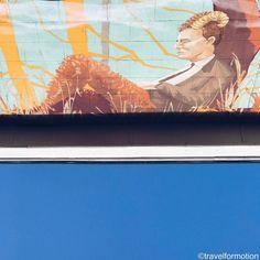 #lunchbreak #streetart #art #gent #ghent #visitgent #wall #belgium #igbelgium #blue #winter #sky #vsco #vscocam #wanderlust #travel #travelgram #guardiancities #guardiantravelsnaps #colours #sky #visitflanders