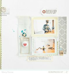 Mix-up | Studio Calico Front Row kits by Marcy Penner @2peasinabucket