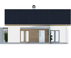 Proiect-casa-parter-255012-f3 Garage Doors, Outdoor Decor, Home Decor, Houses, Decoration Home, Room Decor, Carriage Doors, Interior Decorating
