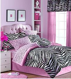 Girls Bedroom Ideas Zebra zebra+bedroom+ideas | zebra hot pink room, hot pink walls with