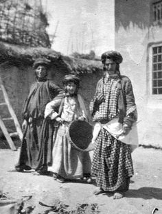 Kurdish Jews in Rowanduz, Iraq, 1905
