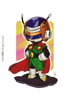 Chibi Great Saiyaman by ideo Dragon Ball Gt, Dragon Z, Goku, Dbz, Great Saiyaman, Kobayashi San, Chibi Characters, Cartoon Pics, Anime Chibi