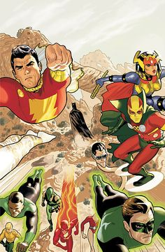 Justice League by Daniel Acuna with big barda and mister miracle