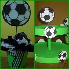 Image detail for -Cientos De Fotos E Imágenes De Fiestas Infantiles Motivo De Futbol . Soccer Birthday Parties, Soccer Party, Sports Party, Barcelona Party, Fc Barcelona, Ideas Para Fiestas, Party Themes, Party Ideas, Balloons