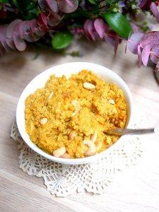 Savoureux dahl de lentilles corail aux noix de cajou pour un dîner sain et gourmand !