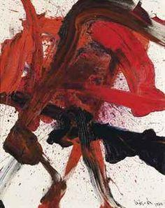 Kazuo Shiraga (Japanese, Chizosei Shomenko, Oil on canvas, 161 x 130 cm. Jackson Pollock, Drip Painting, Painting & Drawing, Action Painting, Abstract Images, Abstract Art, Kazuo Shiraga, Illustrations, Illustration Art