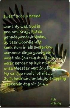 Sweef soos n Arend Good Morning Wishes, Good Morning Quotes, Bible Emergency Numbers, Anchor Quotes, Evening Greetings, Afrikaanse Quotes, Goeie More, Special Quotes, Godly Woman