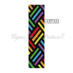 Peyote PatternCOLORFUL WEAVE Design  by CajunsDesignPatternS, $5.50