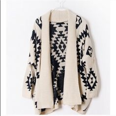 Tribal Print Cardigan Brand new Sweaters Cardigans