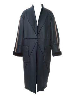 Schnittmuster: Lammfellmantel - verschlusslos - Jacken und Mäntel - Damen - burda style