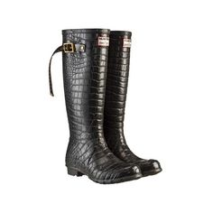 Remember that time when Hunter got together with Jimmy Choo and made these fabulous boots? Yeah, that was awesome.