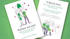 "search ""illustrated wedding invitations"" for ref."