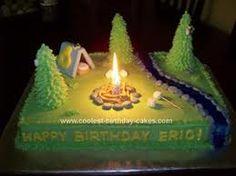 Super 97 Beste Afbeeldingen Van Camping Cakes In 2020 Taart Thema Personalised Birthday Cards Veneteletsinfo