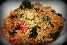The Peaceful Kitchen: Greek Kale and Rice Bowl Recipe and Kale Nutrition Information