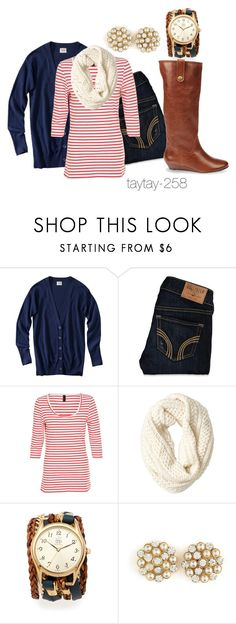 """""""Red, White & Blue"""" by taytay-268 ❤ liked on Polyvore featuring Mossimo, Hollister Co., Vero Moda, Gap, Sara Designs, Charlotte Russe, Steve Madden, oversized watches, stripes and skinny jeans"""