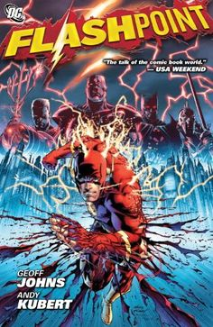 Flashpoint, 2011 The New York Times Best Sellers Hardcover Graphic Books winner, Geoff Johns and Andy Kubert #NYTime #GoodReads #Books