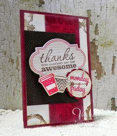 Thanks  Verve cards
