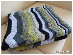 Ravelry: Project Gallery for Hills & Plateaus Throw pattern by Marianne Forrestal