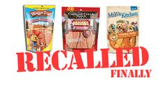 Chicken Jerky Recall: Waggin' Train, Canyon Creek Ranch and Milo's Kitchen