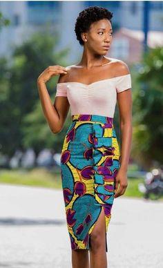 Short Gorgeous Ankara Skirt Source by rukerichard African Fashion Designers, Latest African Fashion Dresses, African Print Fashion, Ankara Fashion, Africa Fashion, African Prints, Latest Fashion, Fashion Trends, Ankara Dress Styles