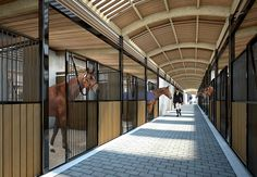 uniarchi.com portfolio apartment-renovation Dream Stables, Dream Barn, Horse Stables, Luxury Horse Barns, Barn Stalls, Barns Sheds, Apartment Renovation, Horse Ranch, Farm Barn