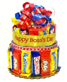 candy bar bouquet | Bosses Day 2011 cookie and candy gifts when you want to send something ...