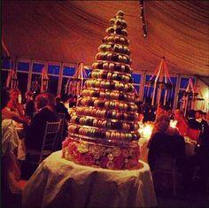 Aftonbladet: Princess Madeleine of Sweden's wedding reception... a tower of 700 macaroons!!