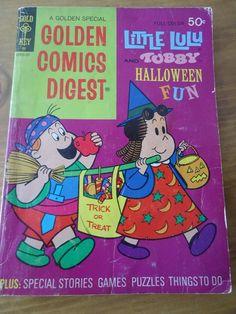 Little Lulu and Tubby Halloween Fun Golden Comics Digest Number 33