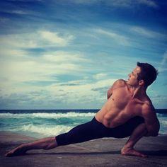 Real Men do #Yoga