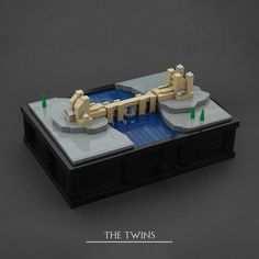The Twins are the seat of the House of Frey, the Great House of the Riverlands. Inspired by the Game of Thrones intro I built a series of clockwork micro scale castles from the TV series. List of all castles: - Winterfell - The Twins - Castle Black - King's Landing