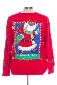 Red Ugly Christmas Sweatshirt 30117