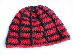 Little Things Blogged: Crochet Spiderman Hat