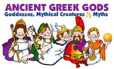 Free Ancient Greek Gods, Goddesses, Mythical Creatures, and Myths video clips Greek Gods And Goddesses, Greek Mythology, Zeus Family, Ancient Greek Religion, Teaching History, Ancient Civilizations, Ancient Greece, Mythical Creatures, Ancient History
