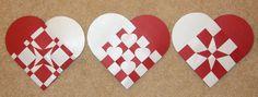 beautiful handmade Danish Christmas hearts by ebygomm, via Flickr