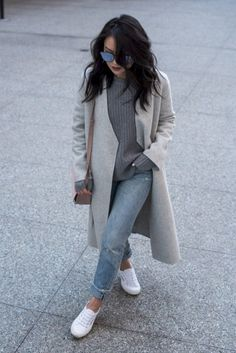 Casual and warm winter outfit ideas 25