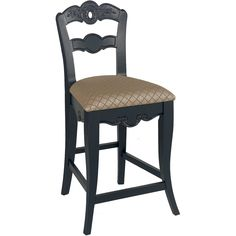 Buy the Powell Home Fashions Antique Black Direct. Shop for the Powell Home Fashions Antique Black Hills of Provence 20 Inch Wide Wood Framed Polyester Kitchen Stool and save.