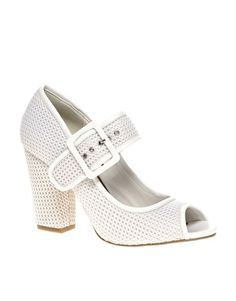 Enlarge ASOS SYNC Mary Jane Heeled Shoes