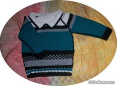 Free+Knitting+Pattern+-+Toddler+&+Children's+Clothes:+Toddler+Pullover