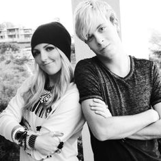 Day 24: Riker and Rydel definitely have the best outfits. #ties #tutus