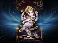Dancing Ganesha Wallpaper for Desktop Free Download
