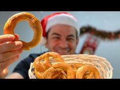 Covrigi de casa - cu sare (2020) - YouTube Onion Rings, Food And Drink, Ethnic Recipes, Youtube, House, Ideas, Home, Cookies, Pretzels