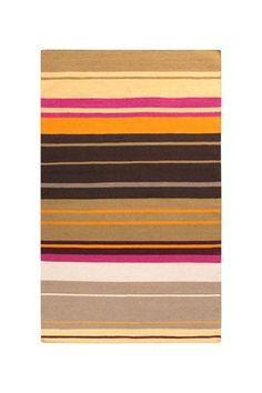 Alameda Wool Rug - Magenta